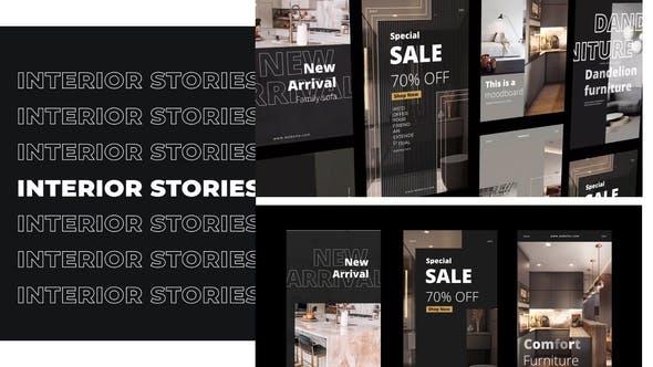 Interior Minimal Stories Instagram