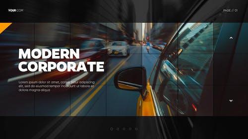 Modern Mosaic - Corporate Presentation // DaVinci Resolve