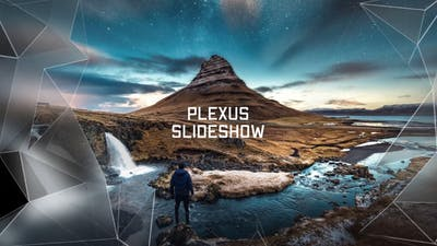 Slideshow - Elegant Plexus // DaVinci Resolve