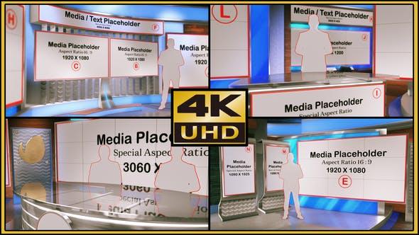 Thumbnail for Virtual Studio Set - S03