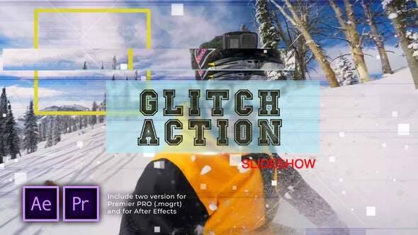 Thumbnail for Glitch Action Diashow