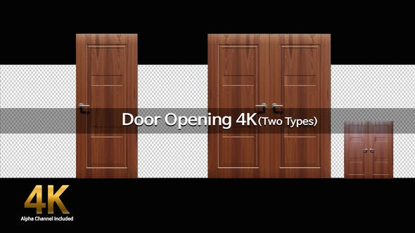 Thumbnail for Door Opening 4K(Two Types)