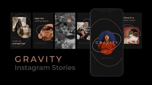 Thumbnail for Histoires Instagram Gravity