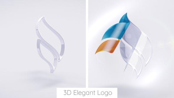 Thumbnail for Logo elegante 3D.