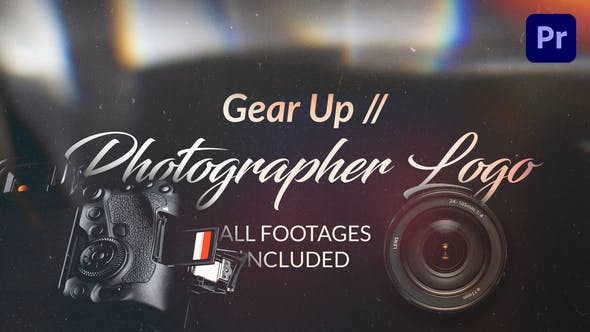 Gear Up // Logo des Fotografen