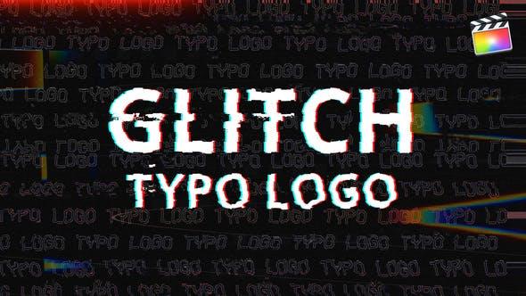 Thumbnail for Glitch Typo Logo | Für Final Cut & Apple Motion