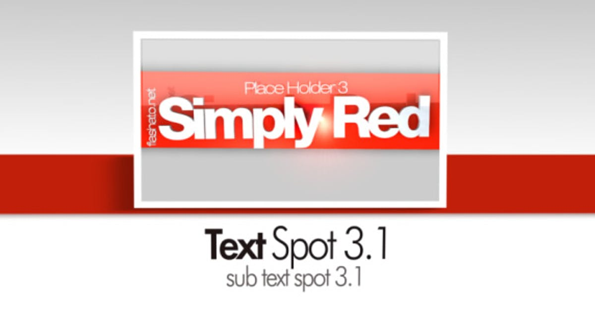 Download Simply Red CS4 by flashato