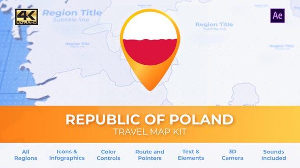 Poland Map - Republic of Poland Travel Map