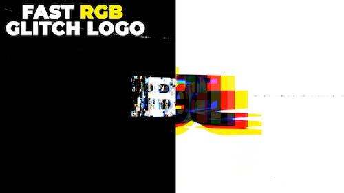 Fast Rgb Glitch Logo