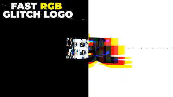 Thumbnail for Fast Rgb Glitch Logo
