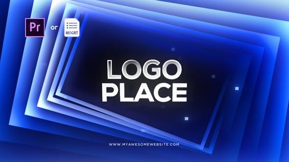 Thumbnail for Gradient Squares Logo Reveal