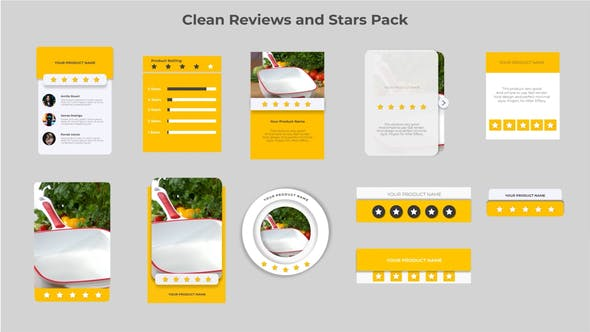 Clean Reviews And 5-Star Pack