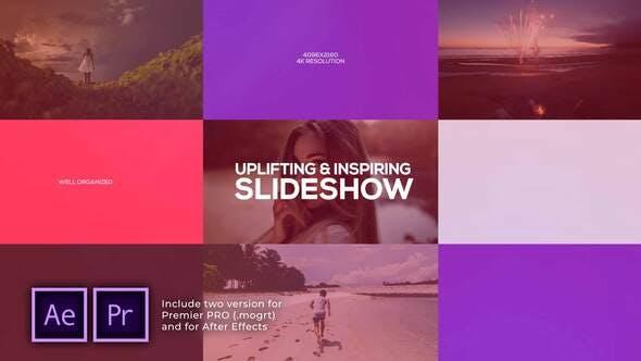Thumbnail for Uplifting & Inspiring Slideshow