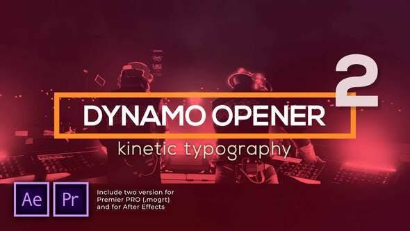 Thumbnail for Dynamic Typography Opener v2