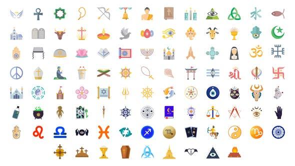 Thumbnail for 100 Religious Icons