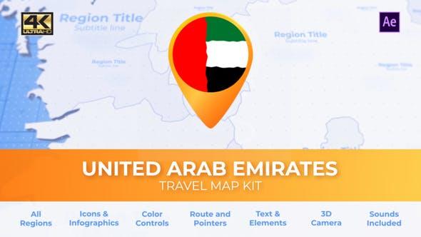 United Arab Emirates Map - Emirates UAE Travel Map