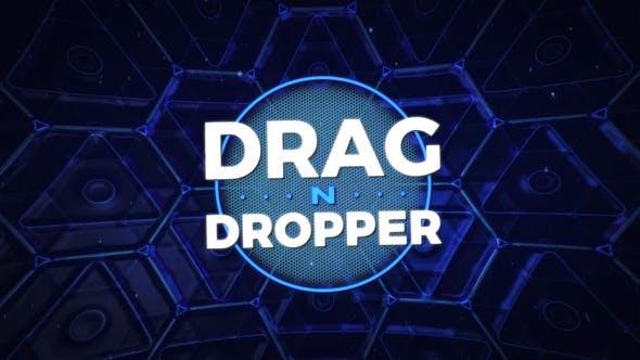 Drag-n-Dropper-Motion-Paket (Übergänge, Revealers, Unterer Drittel, Hintergründe und mehr)