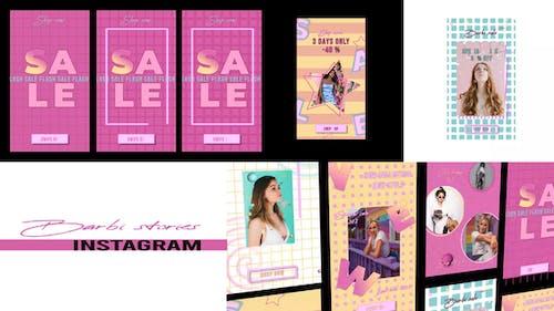 Barbie Verkauf Geschichten Instagram