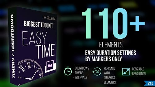 """Countdown Timer toolkit """"Easy Time"""""""
