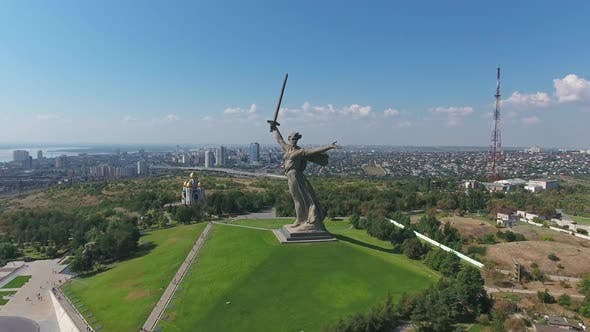 Thumbnail for Monument of Motherland Calls in Volgograd, Russia