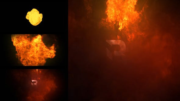 Fire Logo Reveal