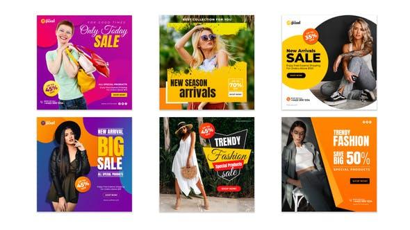 Thumbnail for Fashion Promotion Social Post