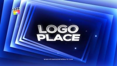 Cinematic Gradient Squares Logo