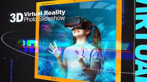 3D Virtual Reality Photo Slideshow