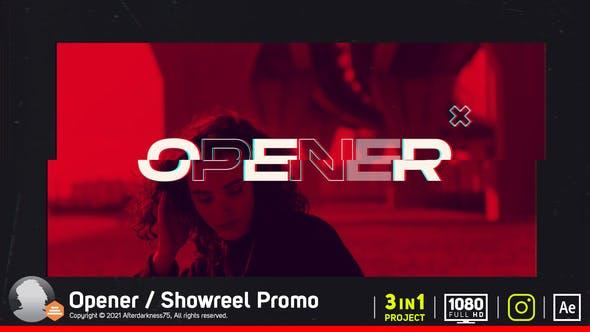 Abridor/Showreel Promo