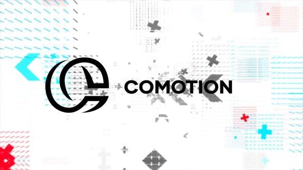 Thumbnail for White Glitch Logo Reveal