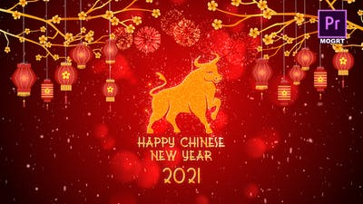 Chinese New Year 2021 Premiere Pro