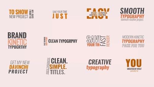 Kinetic Typography V.1