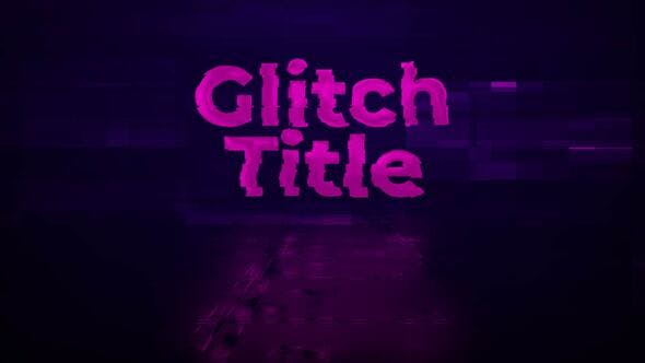 Thumbnail for Glitch Transform Intro Title