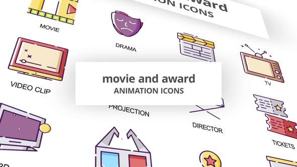 Movie & Award - Animation Icons