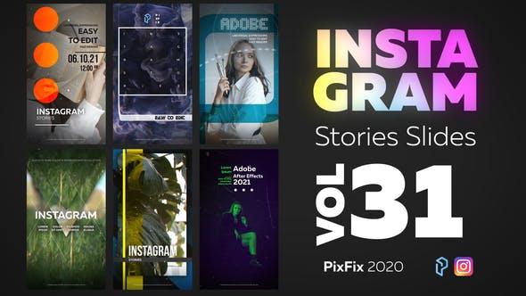 Thumbnail for Instagram Stories Slides Vol. 31
