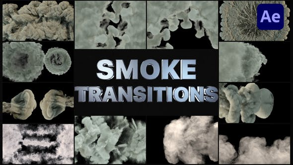 Thumbnail for Real Smoke Transitions | After Effects