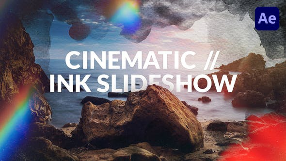 Thumbnail for Cinematic // Ink Slideshow