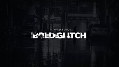 Title Animator - Bold Glitch // DaVinci Resolve