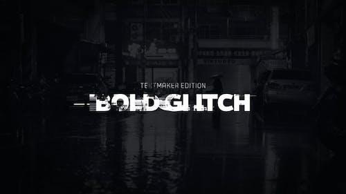 Title Animator - Bold Glitch // DaVinci Resolve