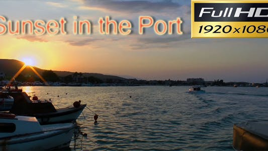 Thumbnail for Sunset Over The Port