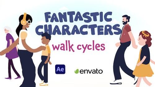 Fantastic Characters - Walk Cycles