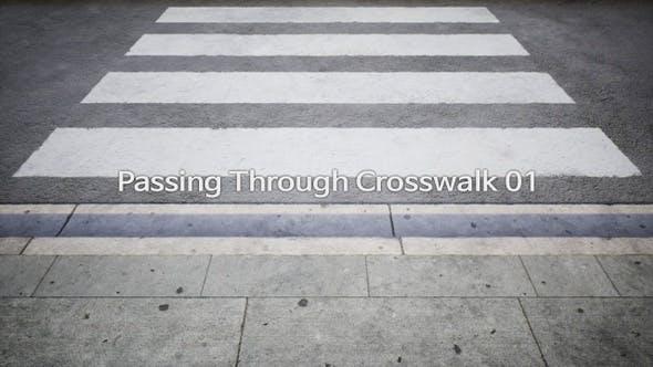 Passing Through Crosswalk 4K 01