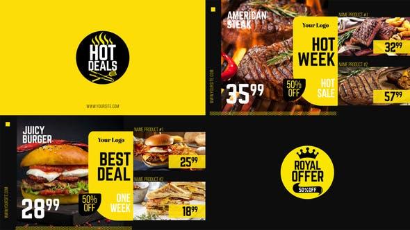 Royal Offer - Food Menu Promo