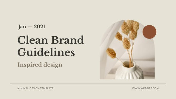 Thumbnail for Clean Brand Guidelines