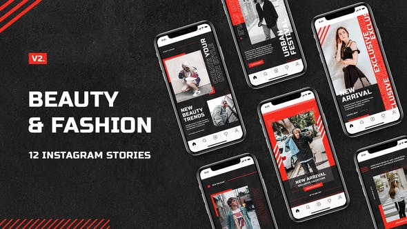 Thumbnail for Beauty & Fashion Instagram Stories v.2
