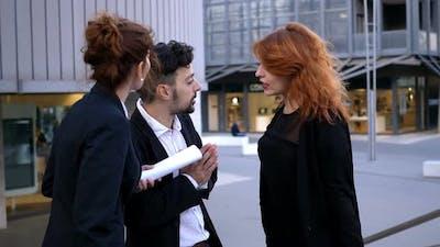 quarrel between colleagues: competition, envy,