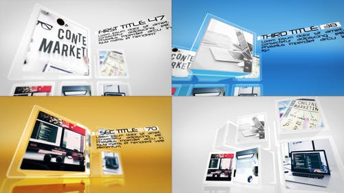 Stylish Business Cubes