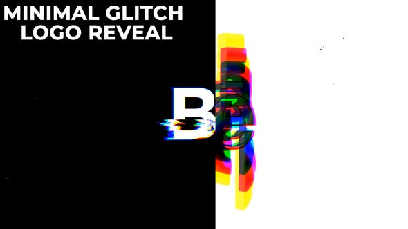 Thumbnail for Minimal Glitch Logo Reveal