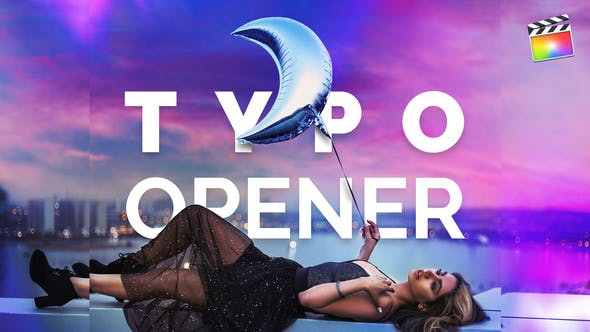Thumbnail for Typo Opener | For Final Cut & Apple Motion