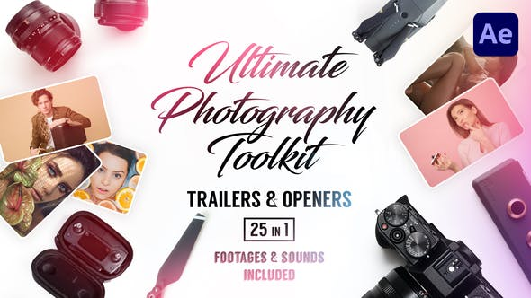 Thumbnail for Ultimate Photography Toolkit Remorques & Ouvreurs